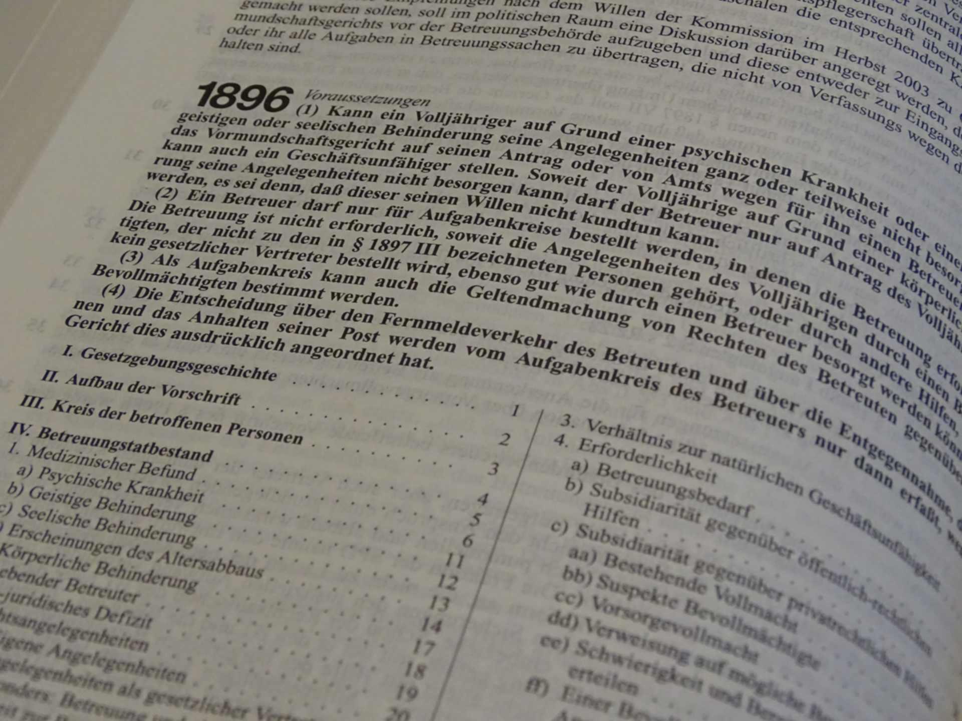 Betreuungsgerichtliche Genehmigung einer zivilrechtlichen Unterbringung